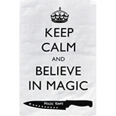 Tea Towel - Keep Calm and Believe in Magic